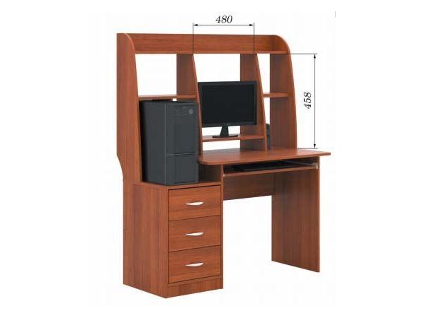 Стіл комп'ютерний з надставкою СПК-05 РТВ-меблі 4322mz купити з доставкою по Україні