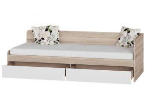 Кровать односпальная с ящиками 800 Соната Эверест