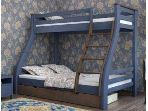 Кровать двухъярусная деревянная  Аляска Mebigrand