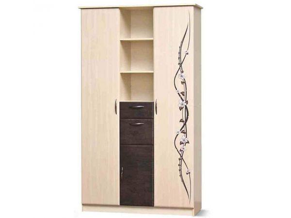 Шкаф комбинированный 3Д Сакура Світ Меблів 370mz купить с доставкой по Украине