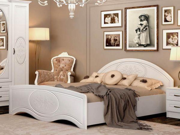 Кровать двуспальная Василиса Мастер Форм 2376mz купить с доставкой по Украине