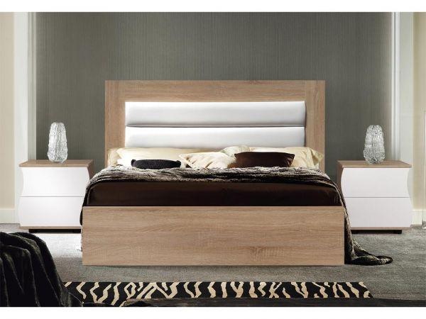 Ліжко двоспальне Наяда Мастер Форм з м'яким узголів'ям 2347mz купити з доставкою по Україні