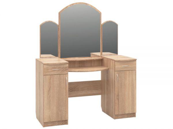 Трюмо 2 с зеркалами и тумбами РТВ-мебель