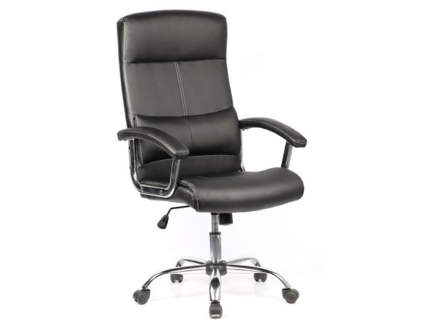 Офисное кресло с изгибом в пояснице...