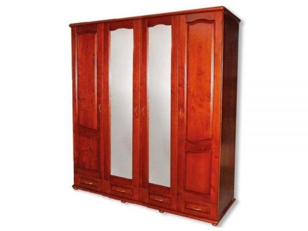 Шафа дерев'яна чотиридверна ТеМП-Мебель 2535mz купити з доставкою по Україні