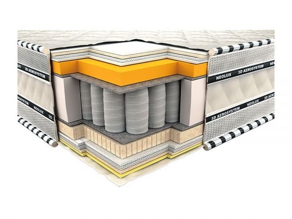 Матрас ортопедический Империал 3D Мемори Neolux 521 купить с доставкой по Украине