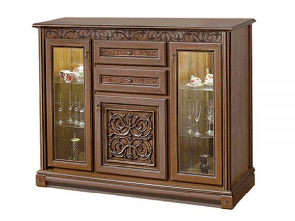 Комод-витрина Тоскана Скай 906 купить с доставкой по Украине