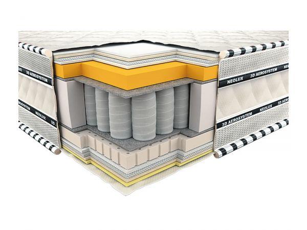 Матрас ортопедический Империал мемори-латекс 3D Neolux 522 купить с доставкой по Украине