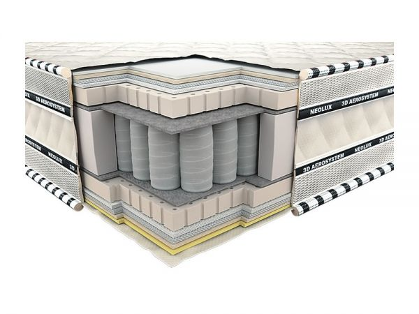 Матрац Імперіал латекс 3D