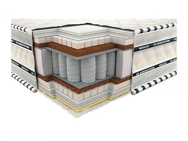 Матрац ортопедичний Імперіал Латекс-Кокос 3D Neolux 621 купити з доставкою по Україні