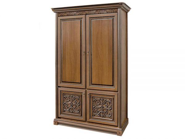 Шкаф двухдверный Тоскана Скай 1535 купить с доставкой по Украине