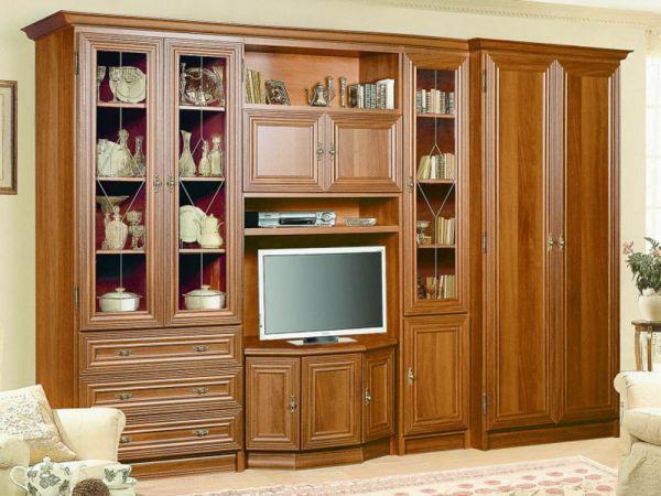 Стенка в гостиную Мона Люкс Скай 614 купить с доставкой по Украине