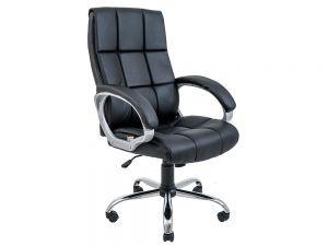 Кресло компьютерное ортопедическое с мягкими подлокотниками Аризона Ричман