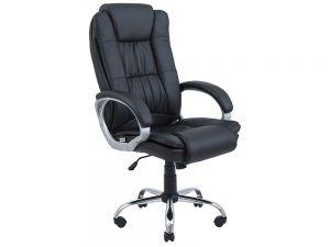 Кресло офисное ортопедическое с мягкими подлокотниками Калифорния Ричман
