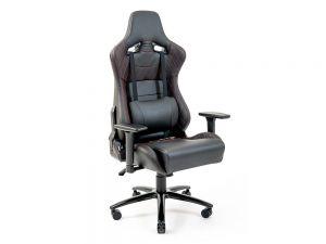 Кресло геймерское с валиком под спину и регулируемыми подлокотниками Астерикс Ричман