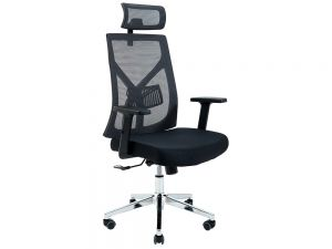 Кресло компьютерное ортопедическое с подголовником Электра Ричман