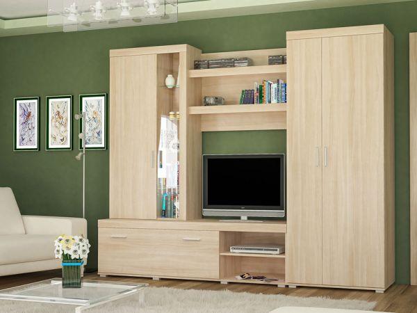 Стенка в гостиную Монтес Мебель Сервис 4302mz купить с доставкой по Украине