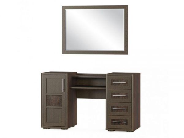 Туалетный столик двухтумбовый Токио 1Д4Ш Мебель Сервис 4361mz купить с доставкой по Украине
