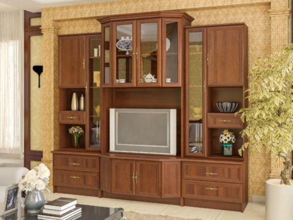 Стінка у вітальню Еко-2 Мебель Сервіс 2858mz купити з доставкою по Україні