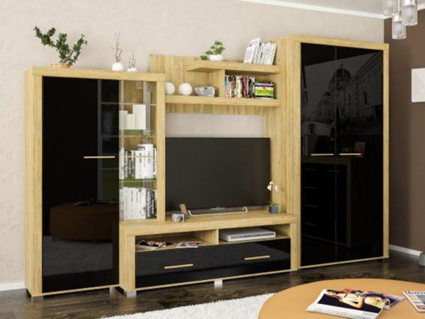 Модульная гостиная Неон-2 Мебель Сервис