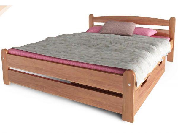Кровать деревянная Вега 4 ТеМП-Мебель 4382mz купить с доставкой по Украине