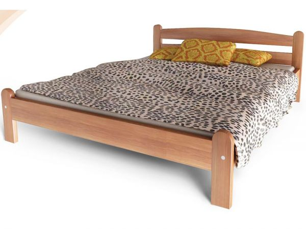 Кровать деревянная Вега 2 ТеМП-Мебель 4381mz купить с доставкой по Украине