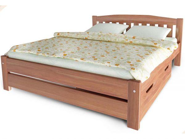 Ліжко дерев'яне Альфа-4 ТеМП-Мебель