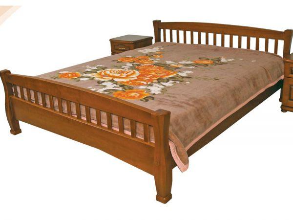 Ліжко дерев'яне Верона ТеМП-Мебель
