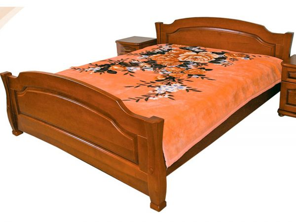 Ліжко дерев'яне Лагуна ТеМП-Мебель