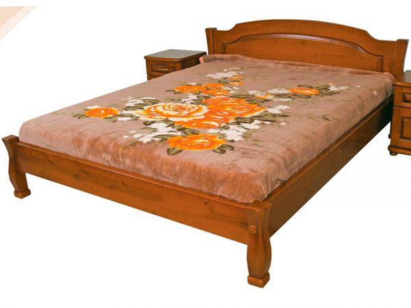 Ліжко дерев'яне Лагуна 2 ТеМП-Мебель