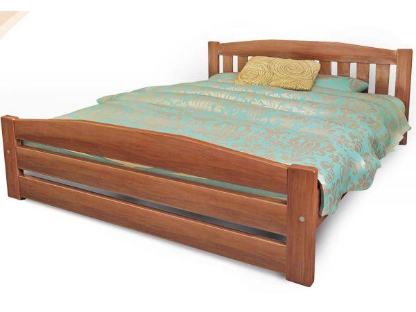Ліжко дерев'яне Альфа 1 ТеМП-Мебель