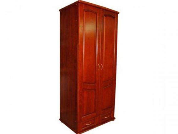 Шафа дерев'яна дводверна ТеМП-Мебель 2534mz купити з доставкою по Україні