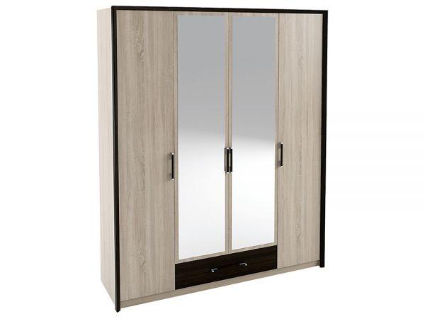 Шкаф четырехдверный 4Д Скарлет Сокме
