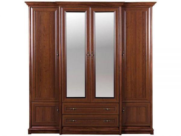 Шкаф четырехдверный с ящиками 4d/2s Соната Гербор 1525mz купить с доставкой по Украине