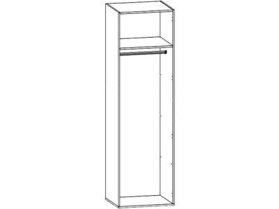 Шкаф для одежды SZF1D Опен