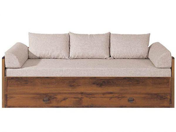Ліжко розсувне з матрацом JLOZ 80/160 Індіана Гербор 3197mz купити з доставкою по Україні