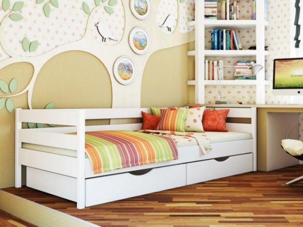 Ліжко односпальне дерев'яне Нота Естелла