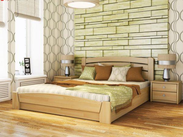 Кровать деревянная Селена Аури Эстелла с подъемным механизмом 4034mz купить с доставкой по Украине
