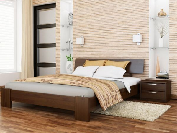 Ліжко дерев'яне Титан Естелла 4036mz купити з доставкою по Україні