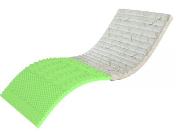 Тонкий матрас-топпер Take&Go bamboo Top Green ЕММ 5402mz купить с доставкой по Украине