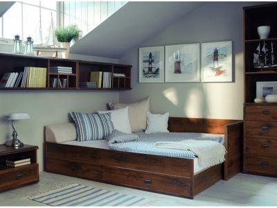 Ліжко розсувне JLOZ 80/160 Індіана