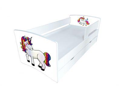 Кровать детская с бортиком Kinder-Cool