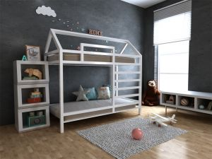 Кровать-домик Джина