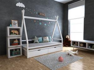 Кровать-домик с ящиками Моана