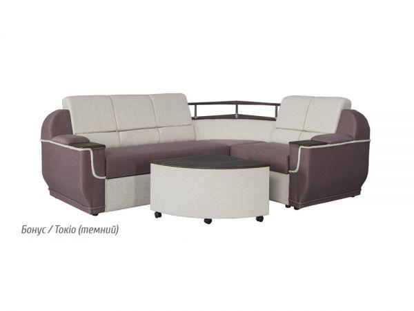 Диван угловой Меркурий со столиком Мебель Сервис 307mz купить с доставкой по Украине