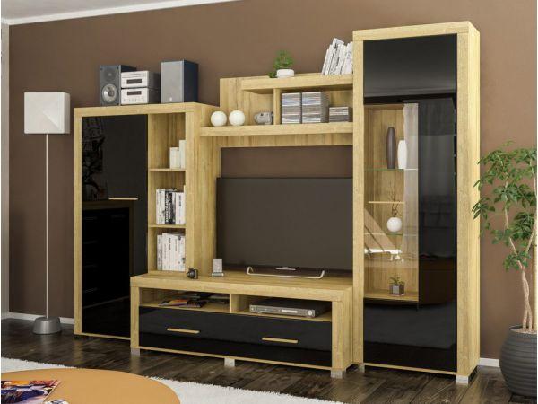 Стінка у вітальню Неон-1 Мебель Сервіс 2987mz купити з доставкою по Україні