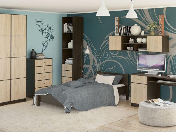 Спальний гарнітур Фантазія NEW Мебель Сервіс 4344mz купити з доставкою по Україні