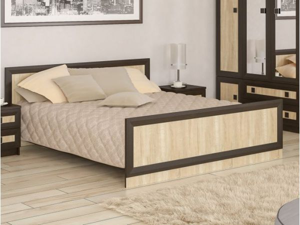 Кровать двуспальная Даллас Мебель Сервис 4354mz купить с доставкой по Украине
