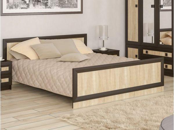 Ліжко двоспальне Даллас Мебель Сервіс 4354mz купити з доставкою по Україні