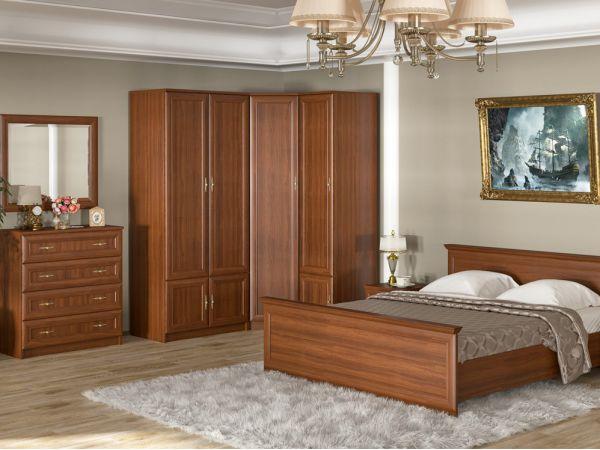 Спальный гарнитур Даллас Мебель Сервис 4345mz купить с доставкой по Украине